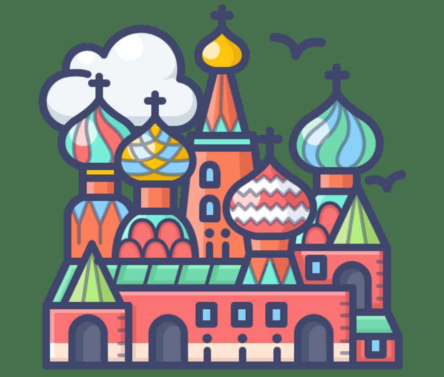 Najlepszych 69 Kasyno onlines w Rosja w roku 2021