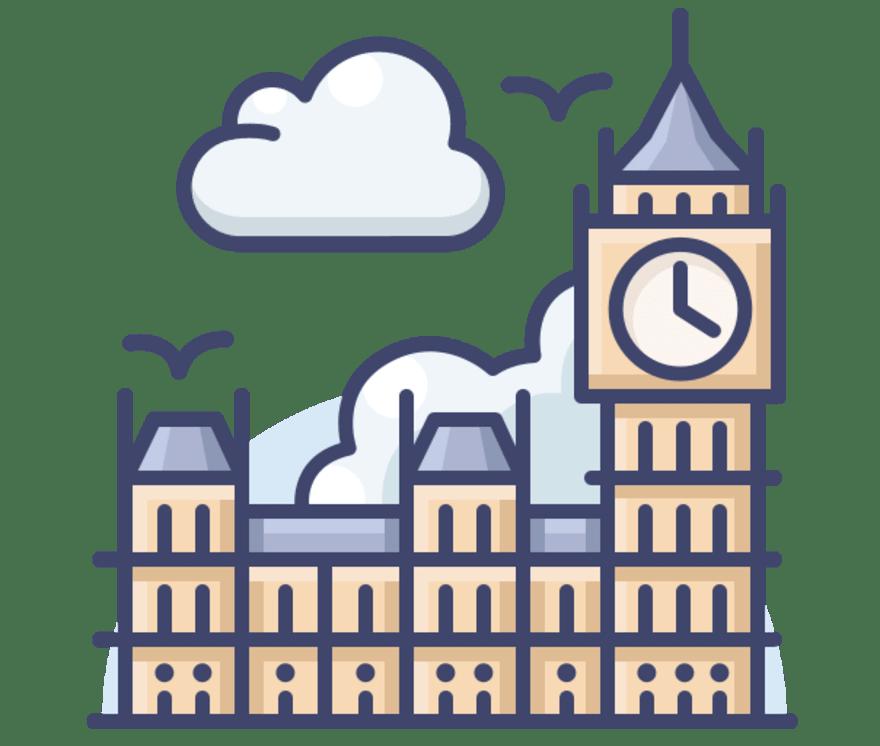 Najlepszych 29 Kasyno onlines w Wielka Brytania w roku 2021