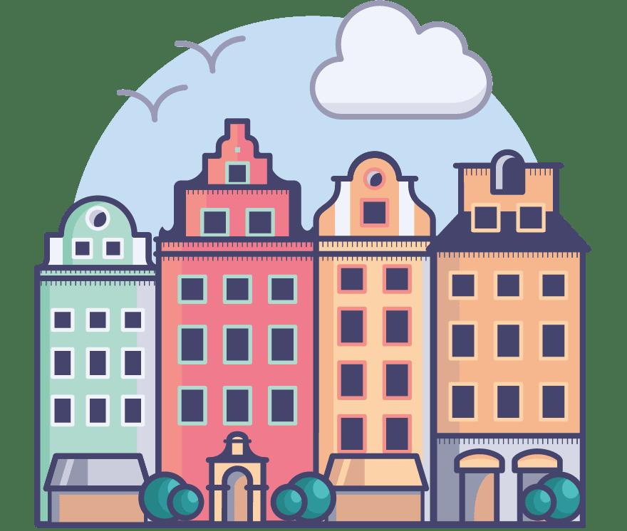 Najlepszych 21 Kasyno Onlines w Szwecja w roku 2021