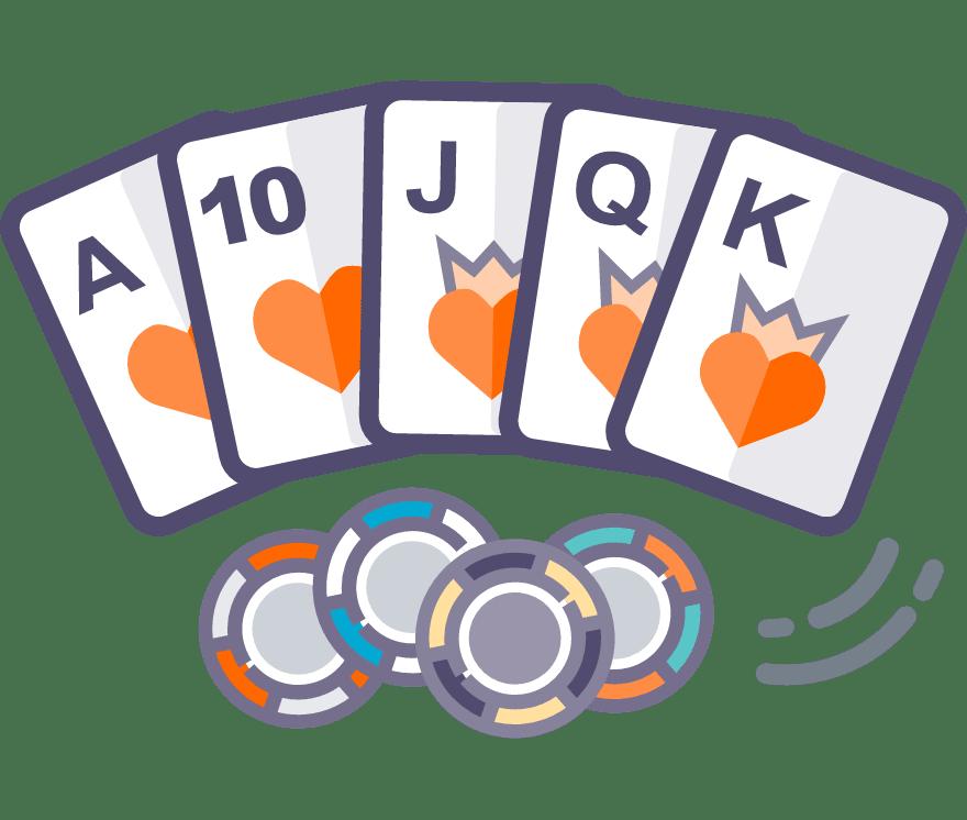 Zagraj w Texas Holdem online — najlepszych 34 Kasyno Online z największymi wypłatami w roku 2021