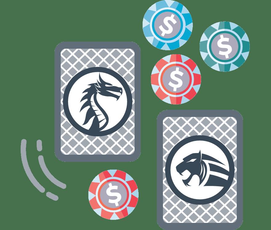 Zagraj w Dragon Tiger online — najlepszych 40 Kasyno Online z największymi wypłatami w roku 2021